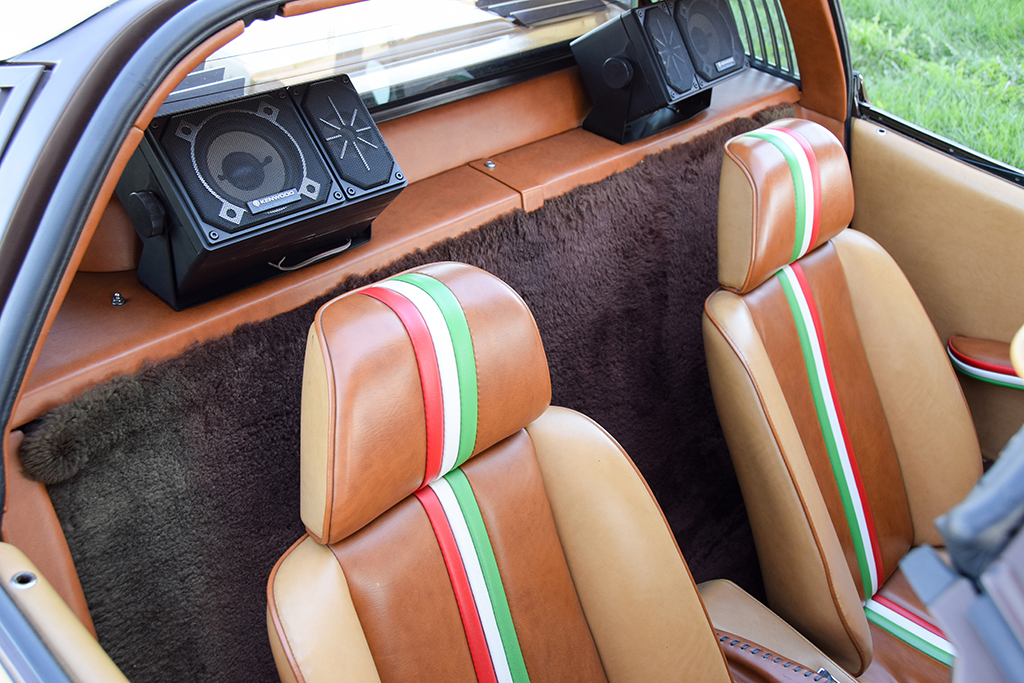 Lot 1379 - George Barris 1978 Ferrari 308 GTS Custom Targa_interior-back
