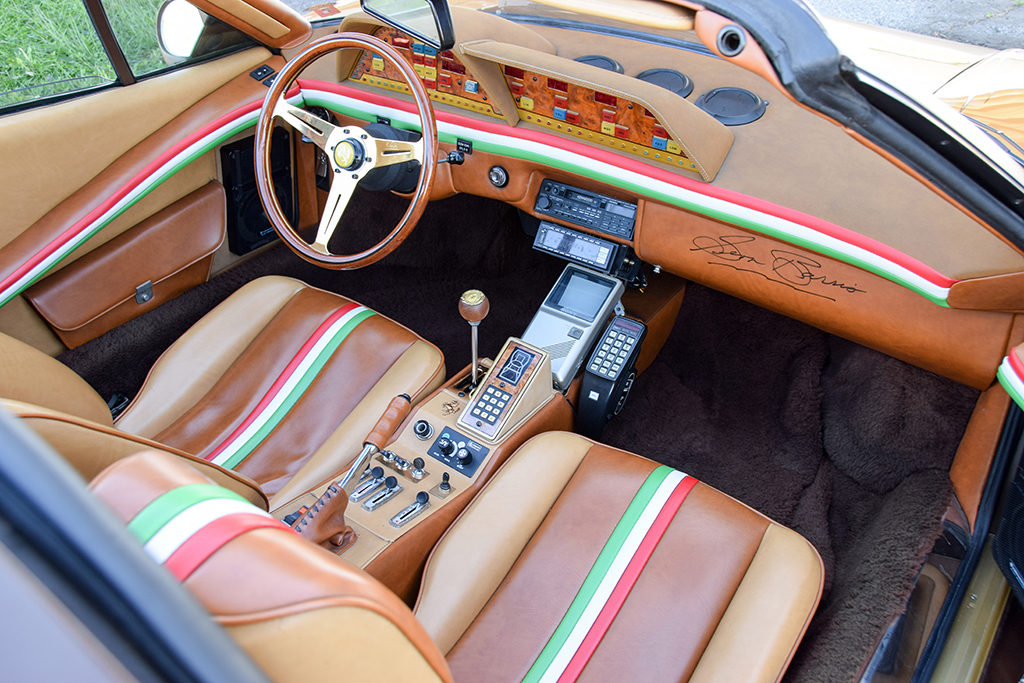 Lot 1379 - George Barris 1978 Ferrari 308 GTS Custom Targa_interior-front