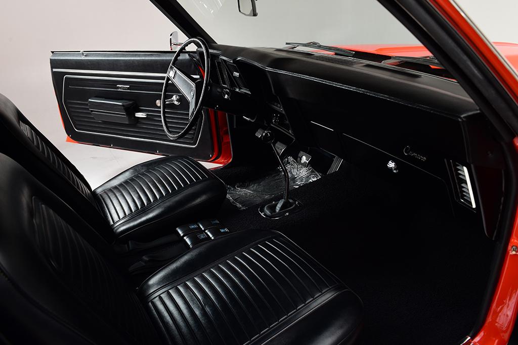 Lot 1409 - 1969 Chevrolet Camaro ZL1 - interior