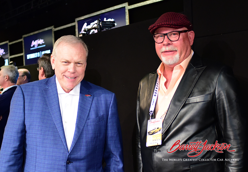Craig Jackson with former Arizona Cardinals coach Bruce Arians.