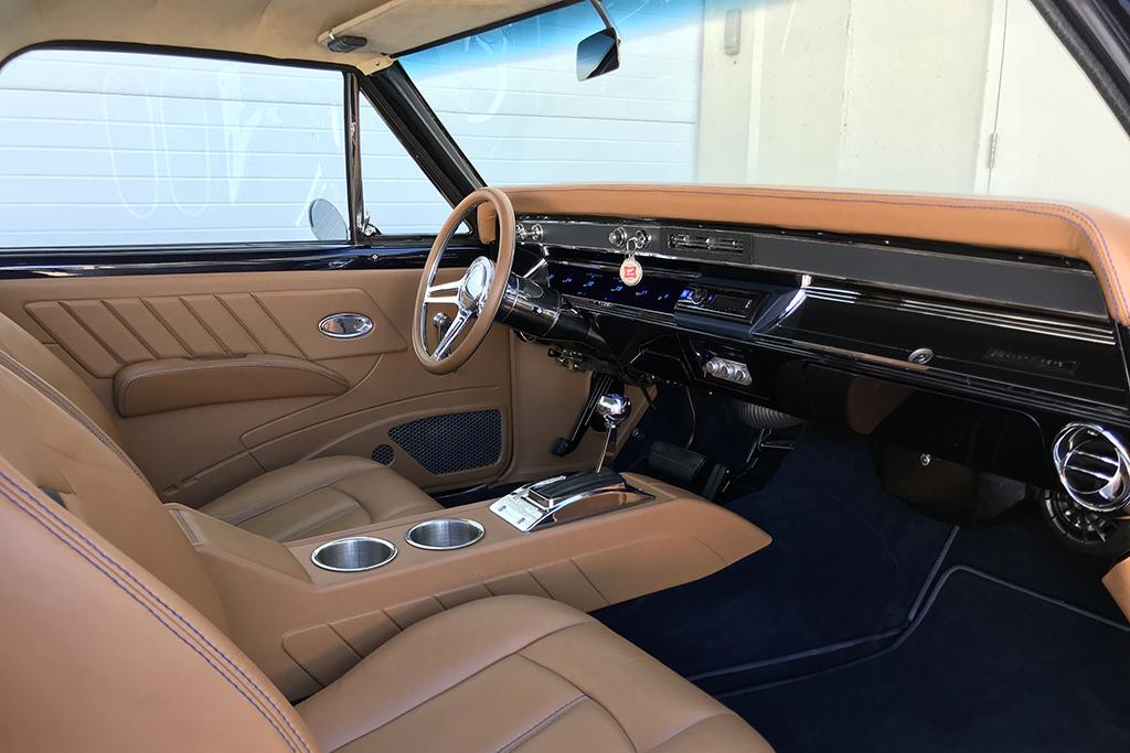 Lot 1318 - Rusty Wallace 1966 Chevrolet El Camino Custom Pickup_interior