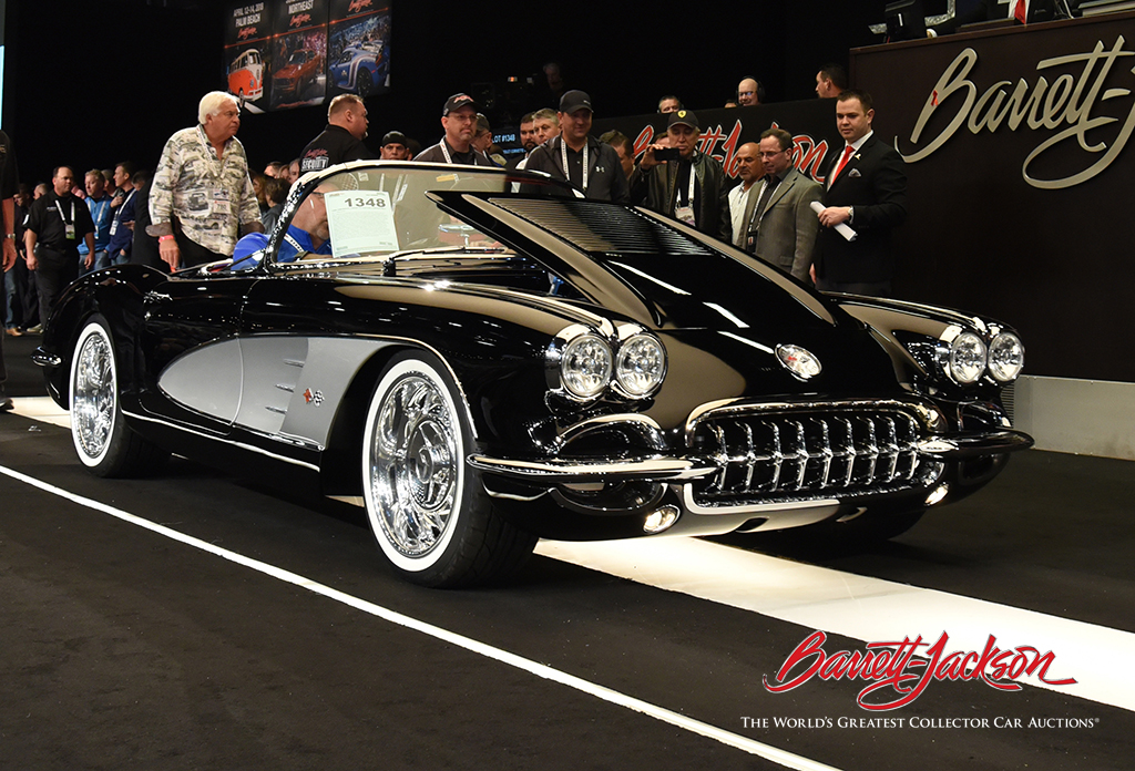 Lot #1348 - 1958 CHEVROLET CORVETTE CUSTOM CONVERTIBLE - $440,000 (a likely world record)