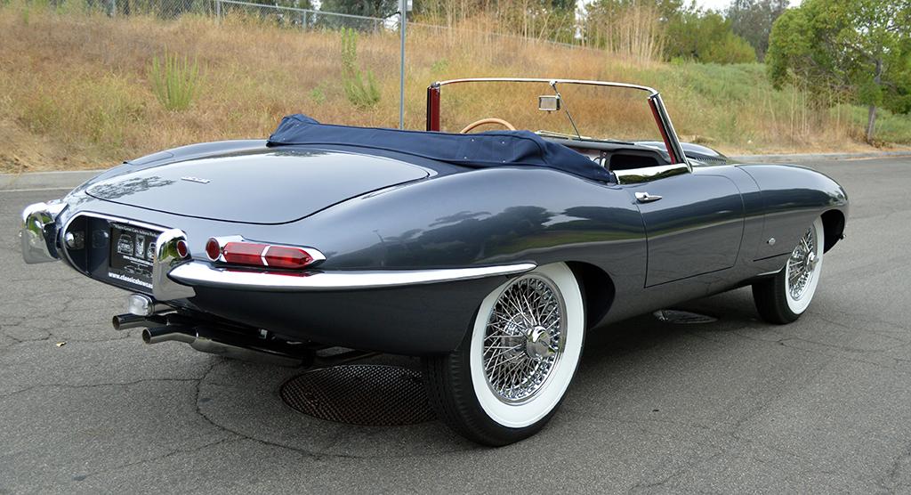 Lot 1392 - 1961 Jaguar XKE Roadster_rear34