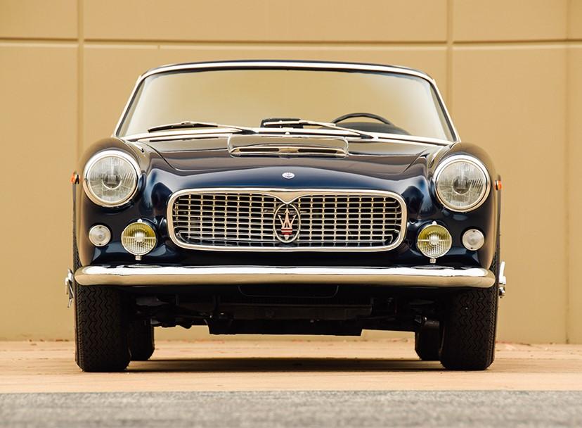 Lot 1394 - 1963 Maserati 3500 GT Vignale Spyder_Front