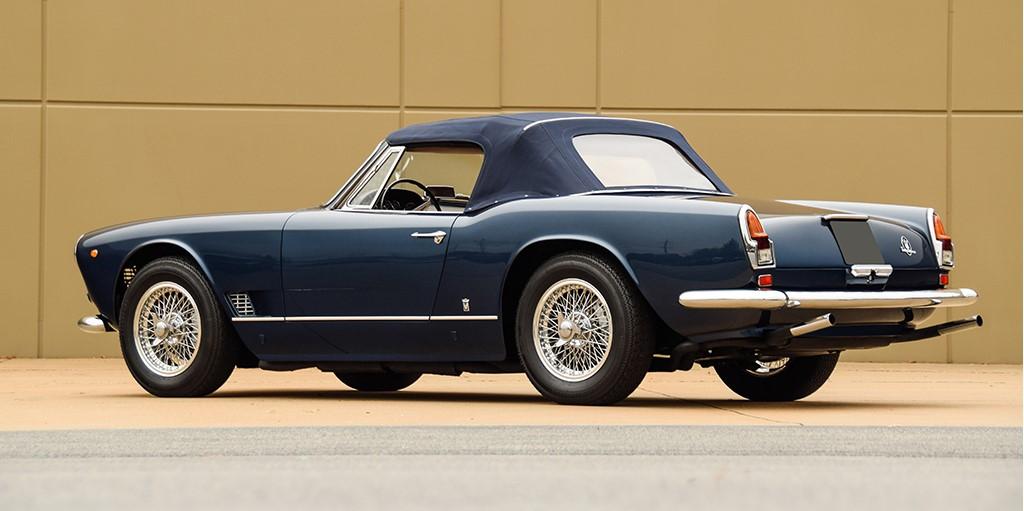 Lot 1394 - 1963 Maserati 3500 GT Vignale Spyder_Rear_3-4