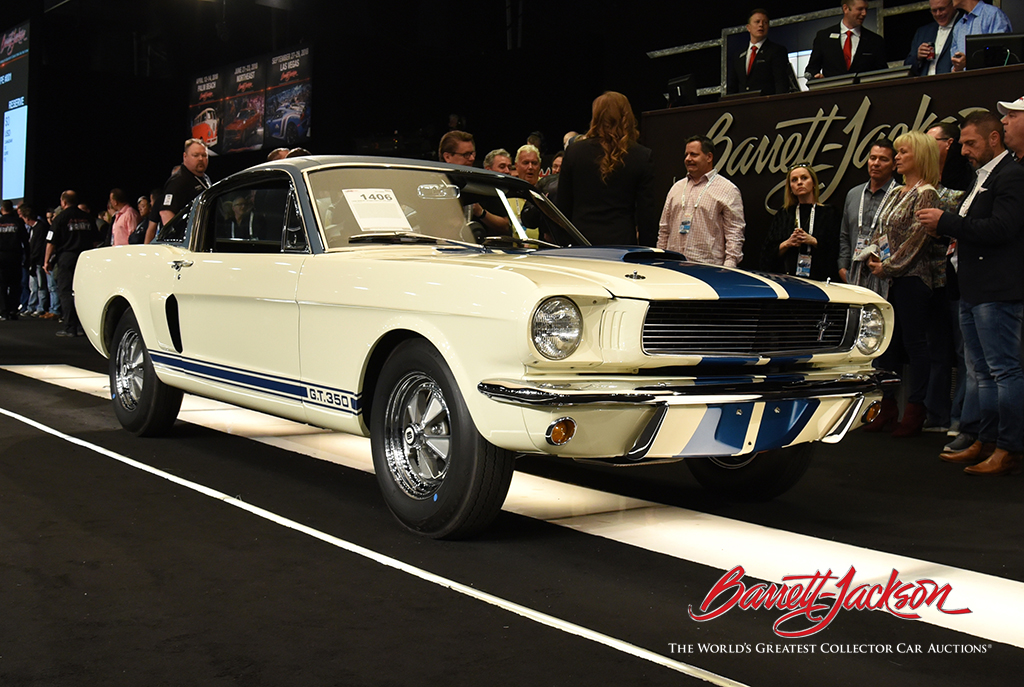 Lot #1406 - 1966 SHELBY GT350 PROTOTYPE #001 - $605,000