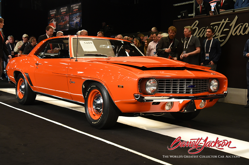 Lot #1409 - 1969 CHEVROLET CAMARO ZL1 - $770,000