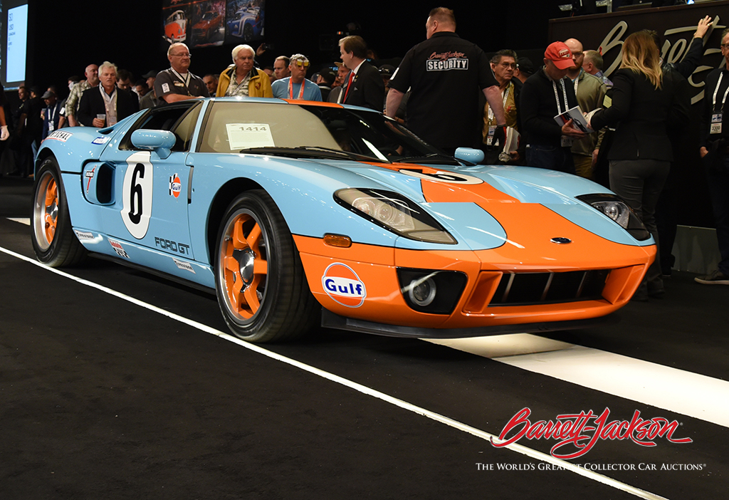 Lot #1414 - 2006 FORD GT HERITAGE EDITION - $495,000