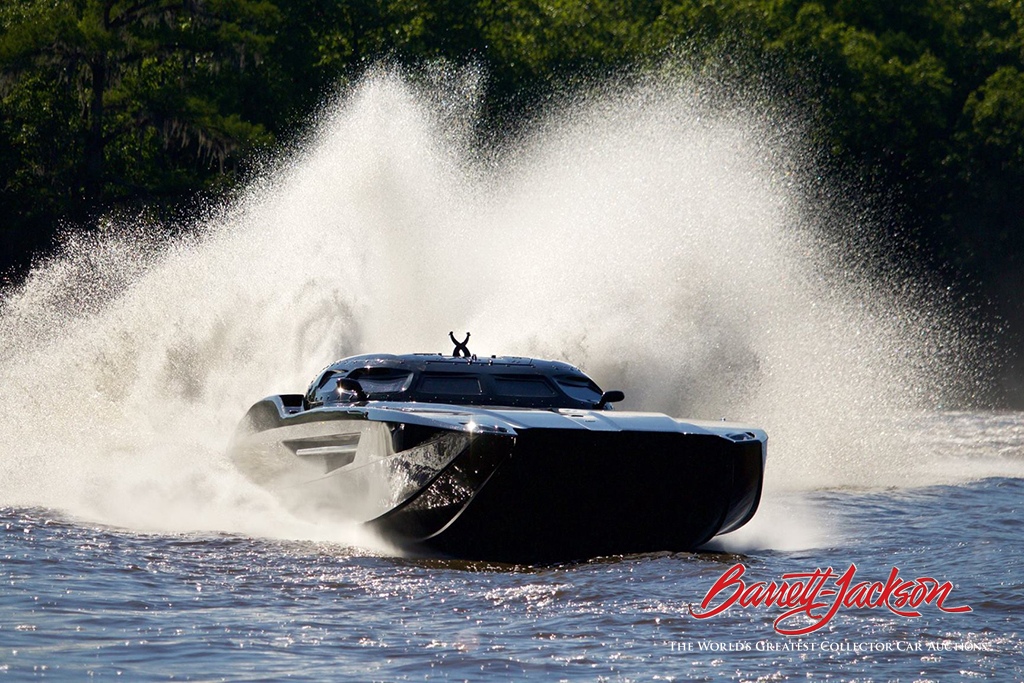 Lot #1426 - 2015 MTI RACING BOAT - $548,900