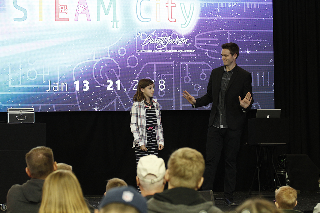 A new attraction at the 2018 Scottsdale Auction was STEAM City, which offered a variety of interactive activities and presentations relating to encourage STEAM education.