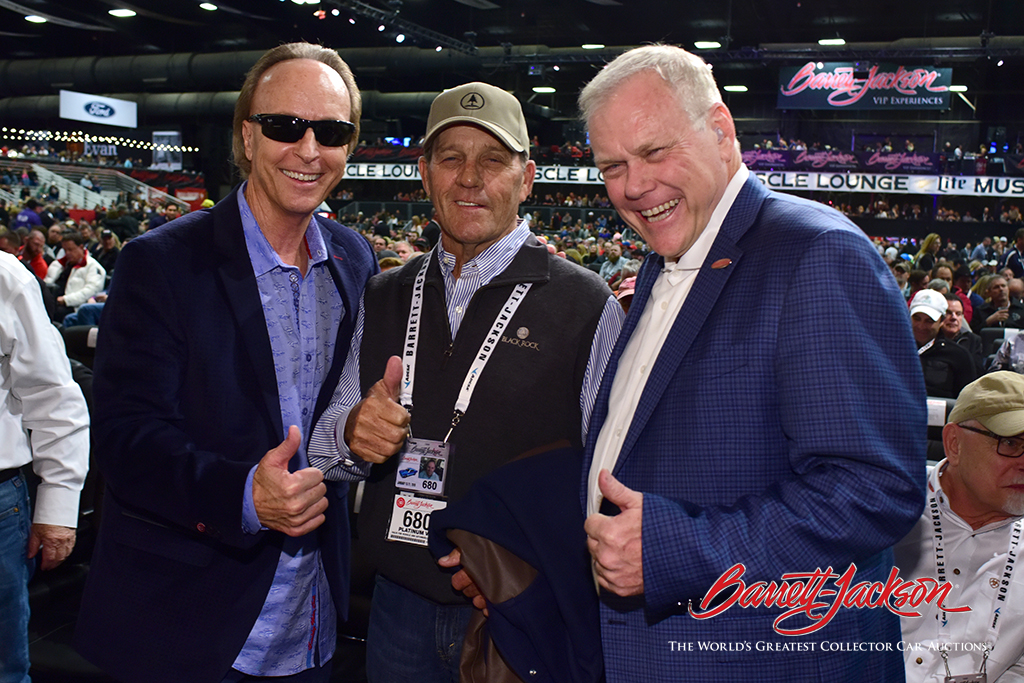Steve Davis, Ron Pratte and Craig Jackson.
