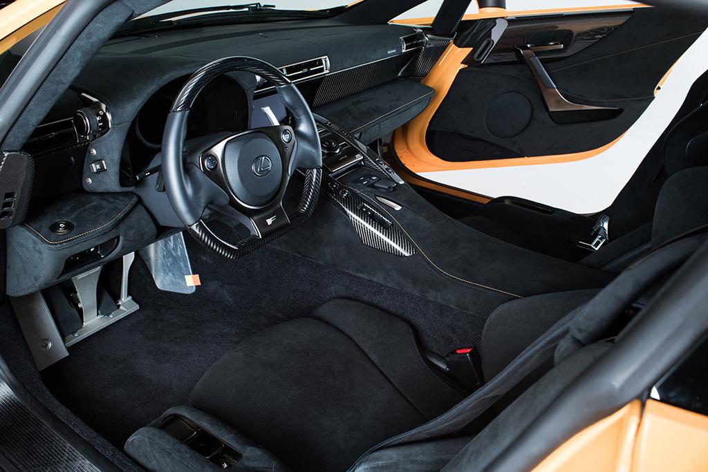 2012 Lexus LFA Nurburgring Edition_interior