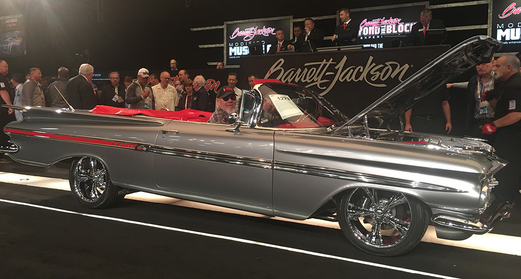 """""""A man with terminal cancer told his friends and family that the last thing he wanted to do in life was go to Barrett-Jackson; not only did he come to our Scottsdale event, but we arranged for him to ride in a car across the auction block."""""""