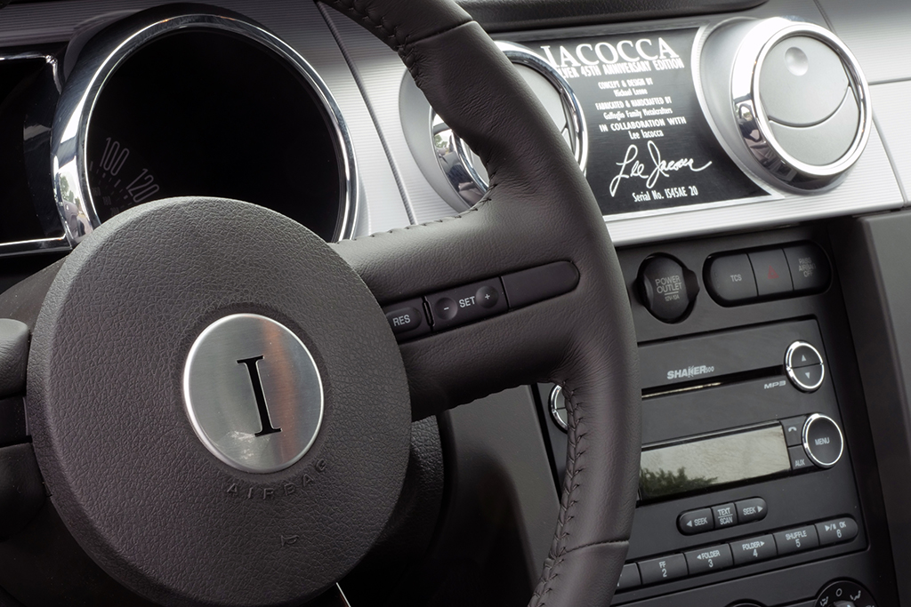 Lot 419 - 2009 Ford Mustang Iacocca 45th Anniversary Edition_detail