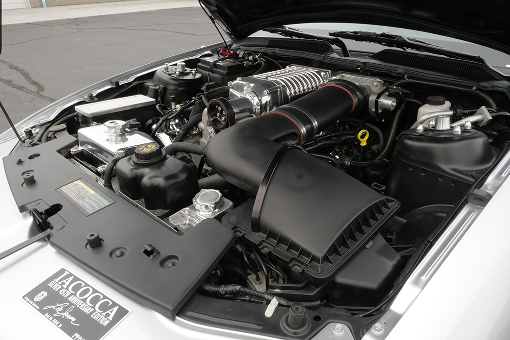 Lot 419 - 2009 Ford Mustang Iacocca 45th Anniversary Edition_engine