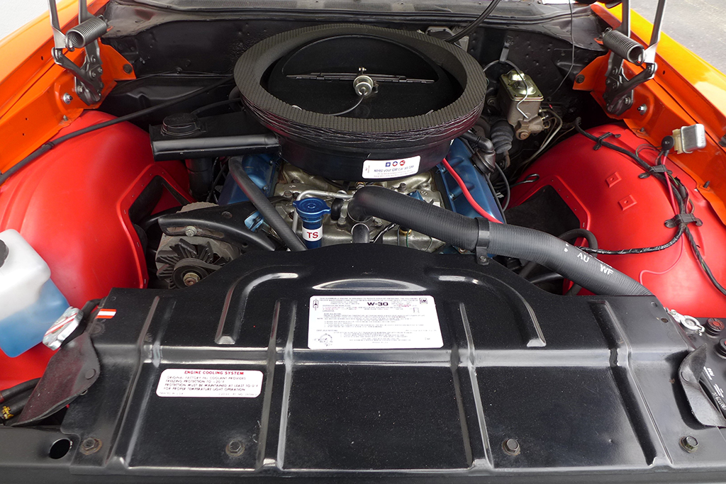 Lot 421 - 1970 Oldsmobile 442 W30 Holiday Coupe_Engine