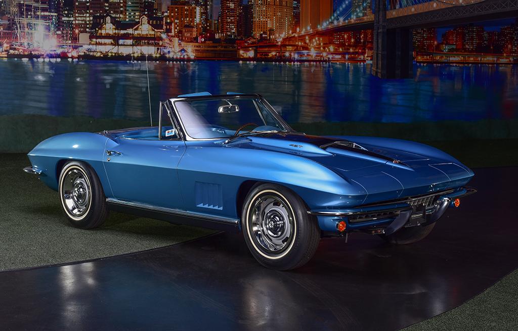 Lot 710 - 1967 Chevrolet Corvette 427-435 Convertible_Front_3-4