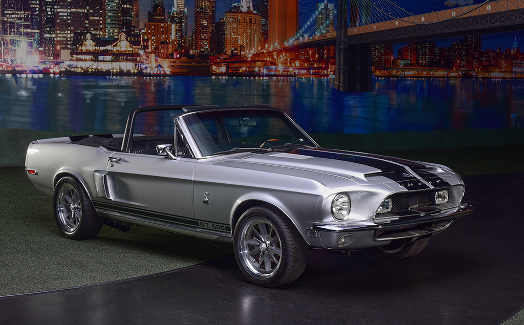 Lot 714 - 1968 Shelby GT500 Convertible_front_3-4