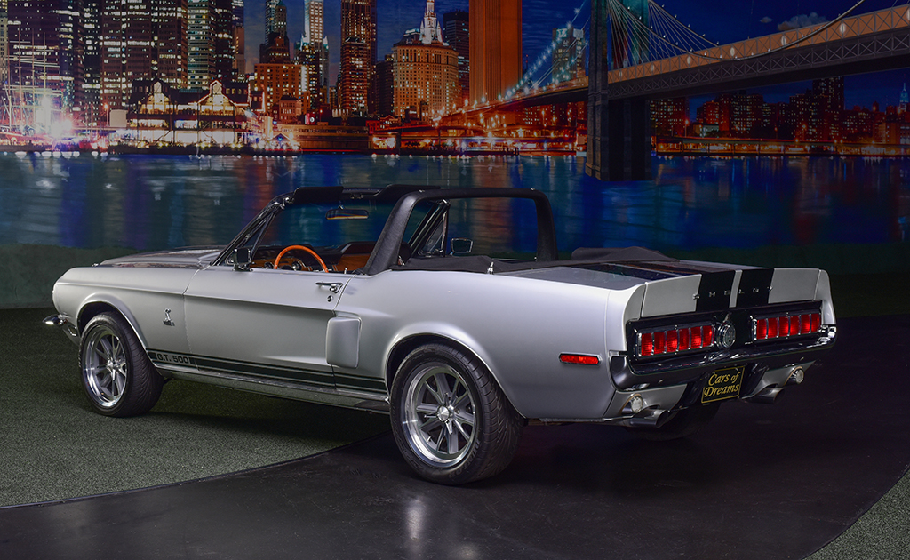 Lot 714 - 1968 Shelby GT500 Convertible_rear_3-4