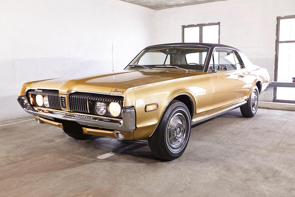 Lot #962.1 - 1968 Mercury Cougar