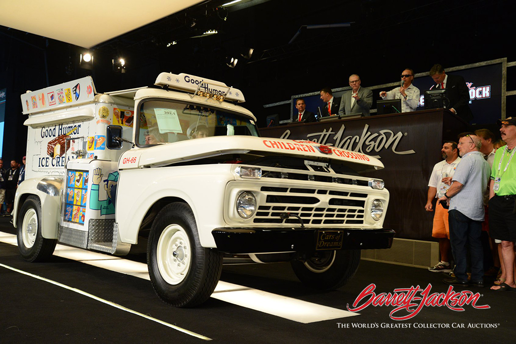 LOT #392.1 - 1966 FORD GOOD HUMOR TRUCK - $117,700 (A WORLD RECORD AT AUCTION)