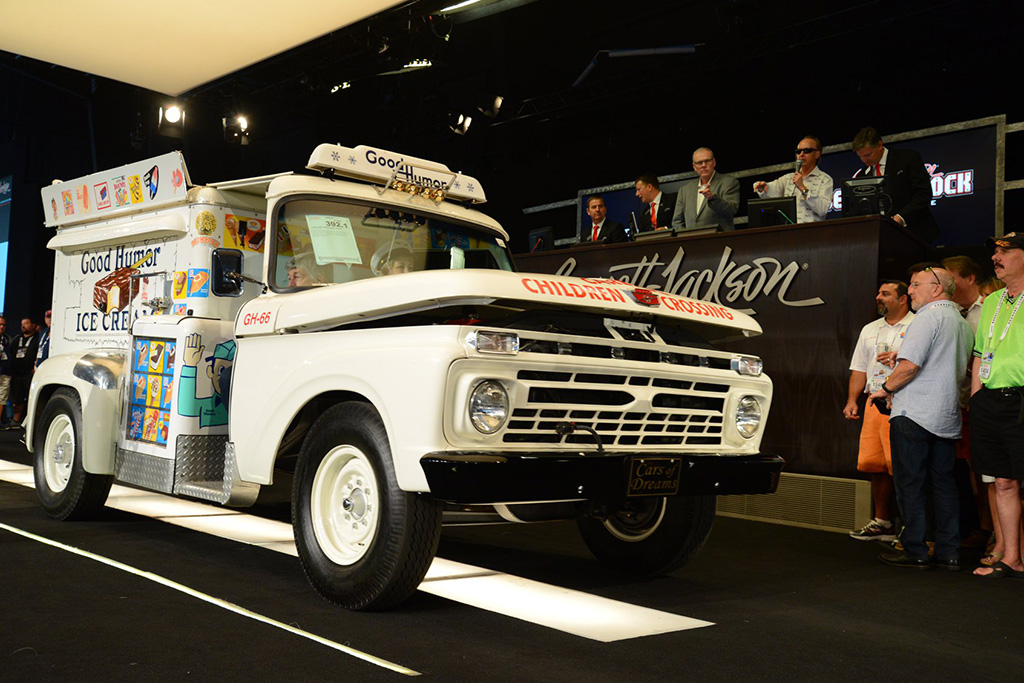 1966 Ford Good Humor Ice Cream Truck