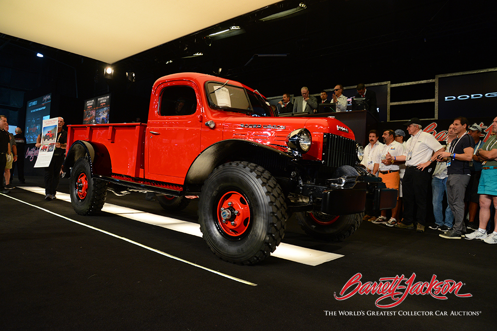 LOT #400.1 - 1947 DODGE POWER WAGON PICKUP - $132,000 (A WORLD RECORD SALE AT AUCTION)