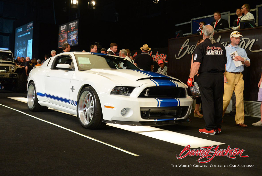 LOT #410 - 2014 FORD SHELBY GT500 SUPER SNAKE - $132,000