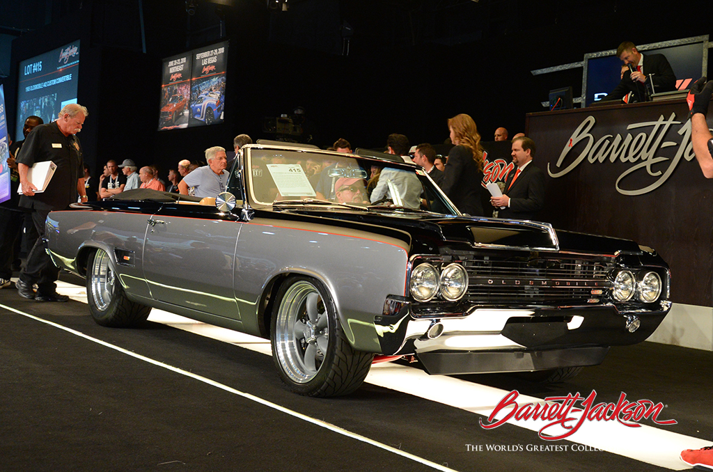 LOT #415 - 1965 OLDSMOBILE 442 CUSTOM CONVERTIBLE - $117,700 (A WORLD RECORD AT AUCTION)
