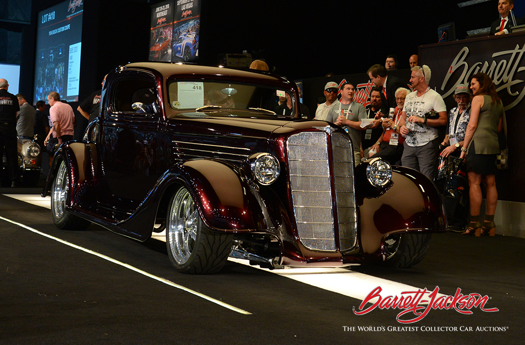 LOT #418 - 1934 BUICK CUSTOM COUPE - $110,000