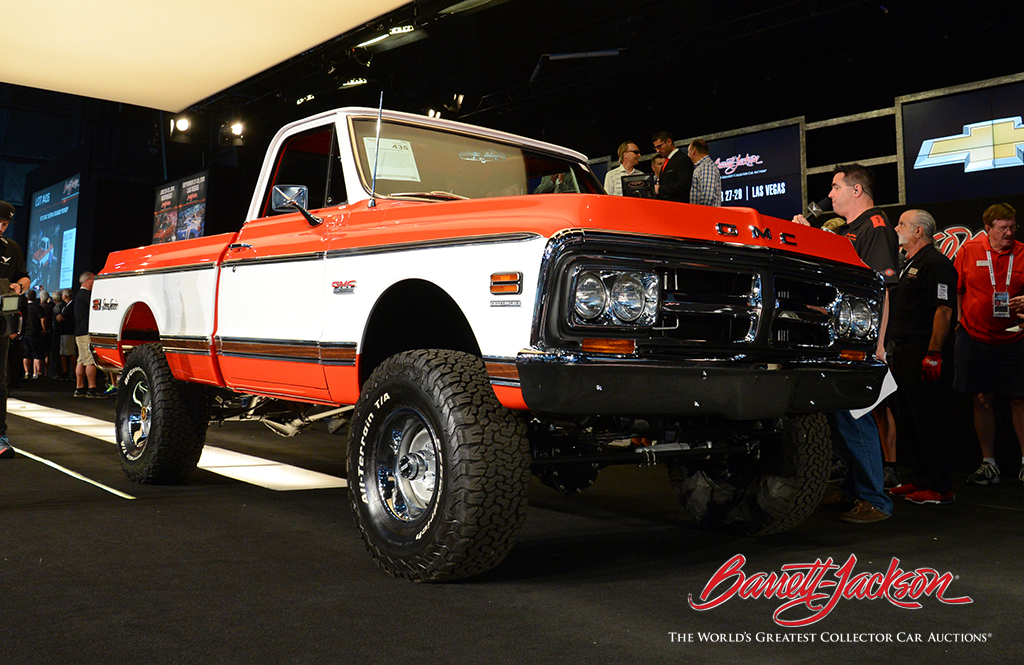 LOT #435 – 1972 GMC SIERRA GRANDE PICKUP - $77,000 (A WORLD RECORD SALE AT AUCTION)