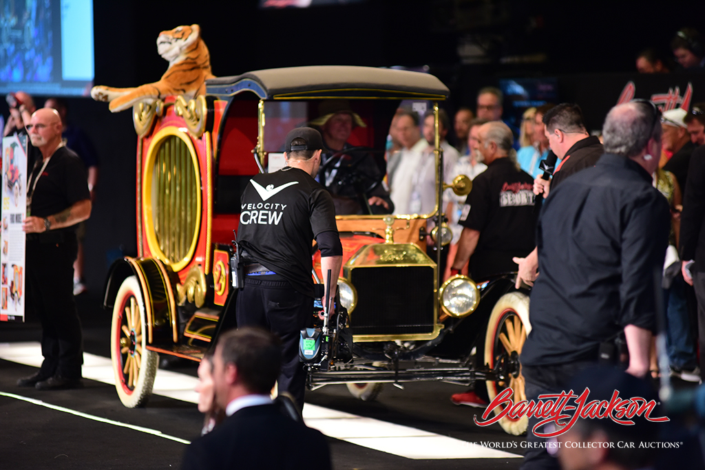 LOT #694.1 – 1915 FORD MODEL T CIRCUS WAGON - $110,000