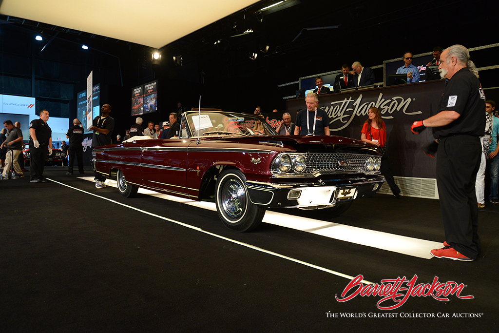 LOT #703.1 - 1963 FORD GALAXIE 500 XL R-CODE CONVERTIBLE (from the John Staluppi Cars of Dreams Collection) - $170,500 (A NEW WORLD RECORD AT AUCTION)