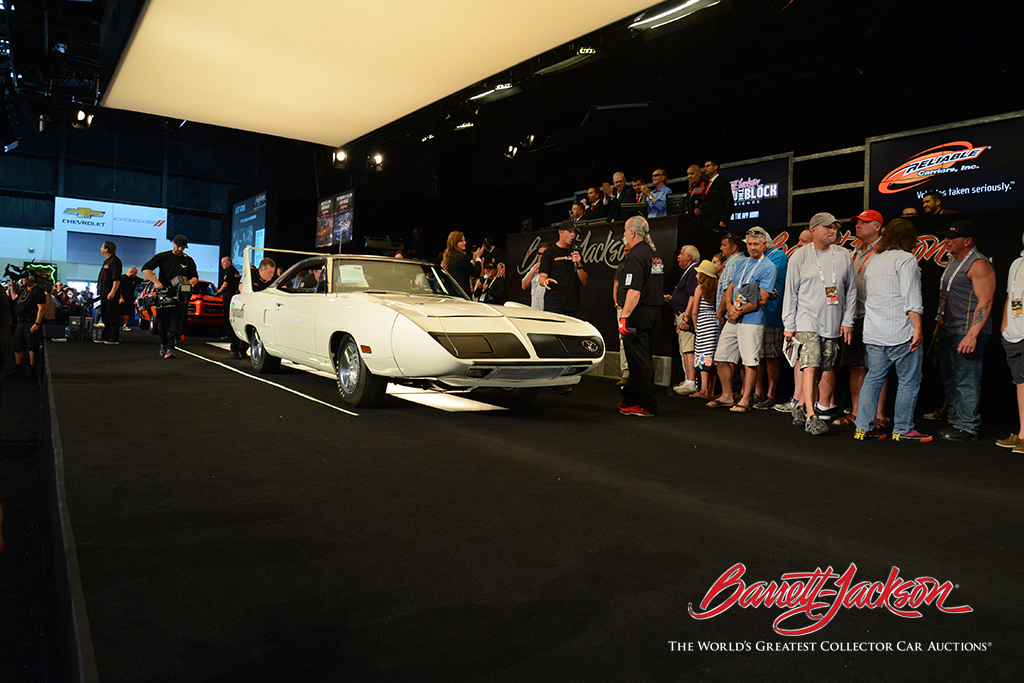 LOT #708 – 1970 PLYMOUTH SUPERBIRD (from the John Staluppi Cars of Dreams Collection) – $286,000 (Highest price ever achieved for a 440ci 1970 Superbird)