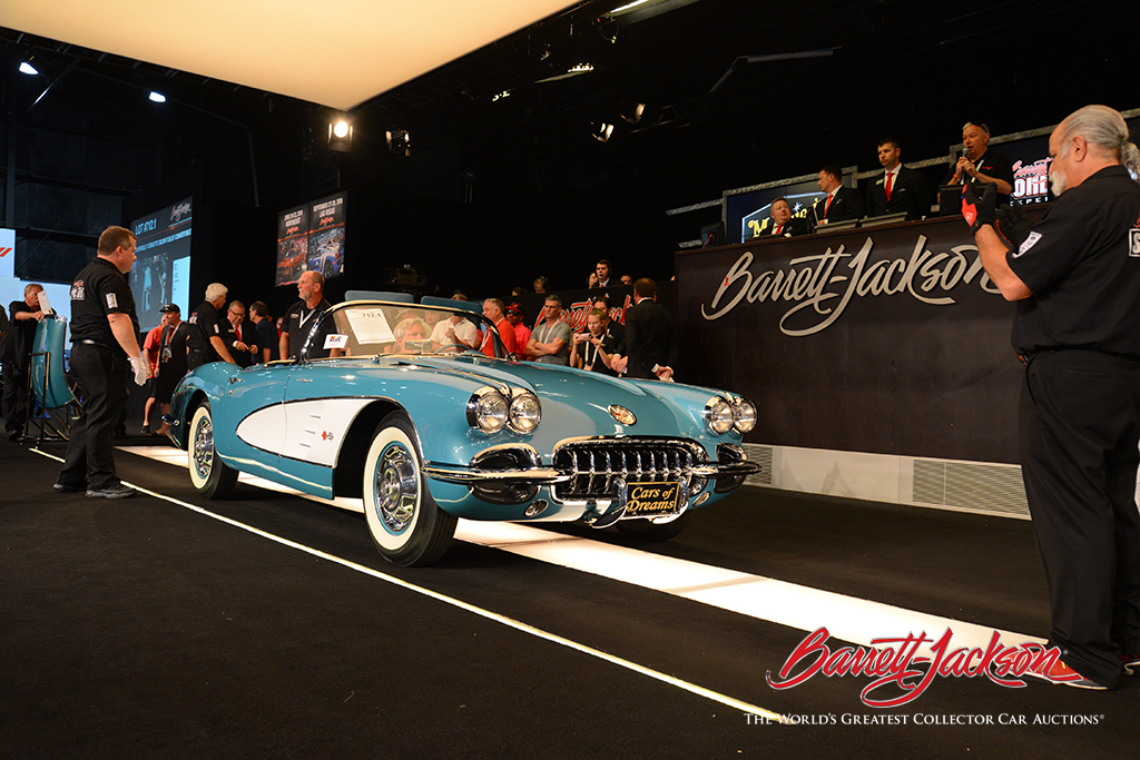 LOT #712.1 – 1960 CHEVROLET CORVETTE 283/290 FUELIE CONVERTIBLE (from the John Staluppi Cars of Dreams Collection) – $209,000