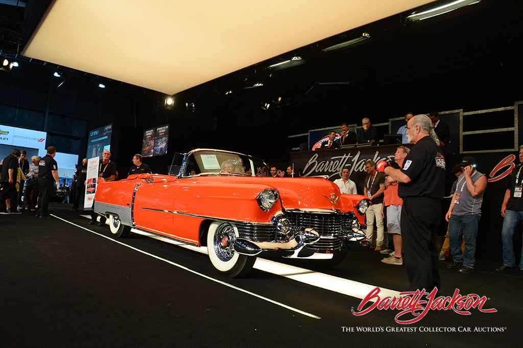 LOT #715.1 - 1954 CADILLAC ELDORADO CONVERTIBLE (from the John Staluppi Cars of Dreams Collection) - $184,800 (A NEW WORLD RECORD AT AUCTION)