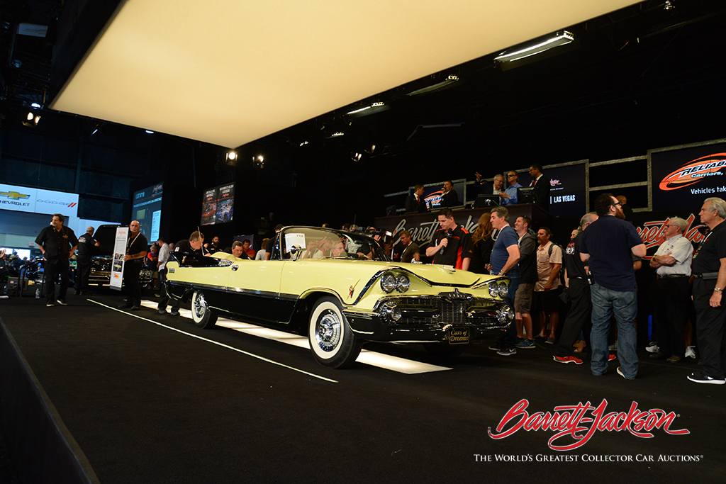LOT #718 – 1959 DODGE CUSTOM ROYAL SUPER D-500 CONVERTIBLE (from the John Staluppi Cars of Dreams Collection) – $220,000