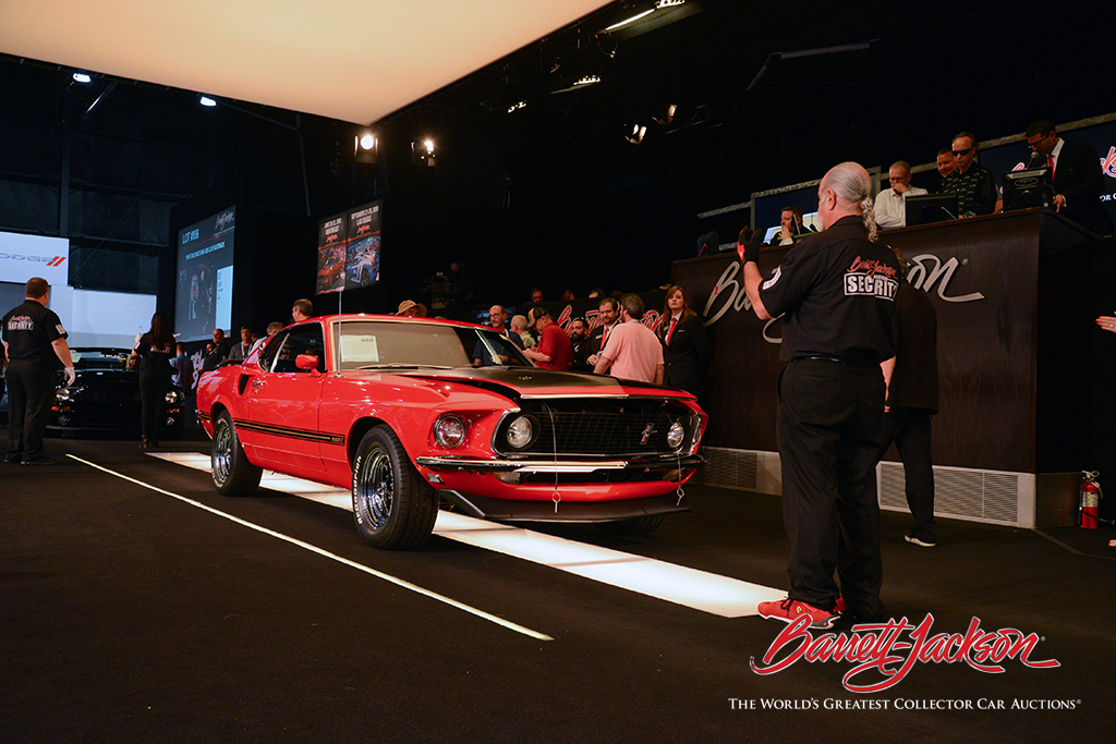 LOT #956 – 1969 FORD MUSTANG 428 CJR FASTBACK