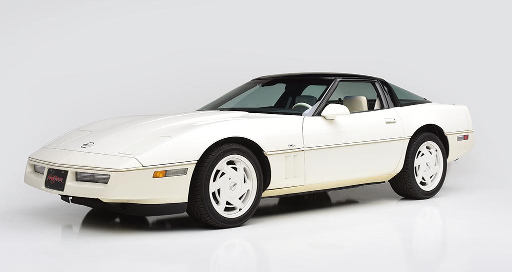 1988 Chevrolet Corvette 35th Anniversary Edition Driven Hearts American Heart Association