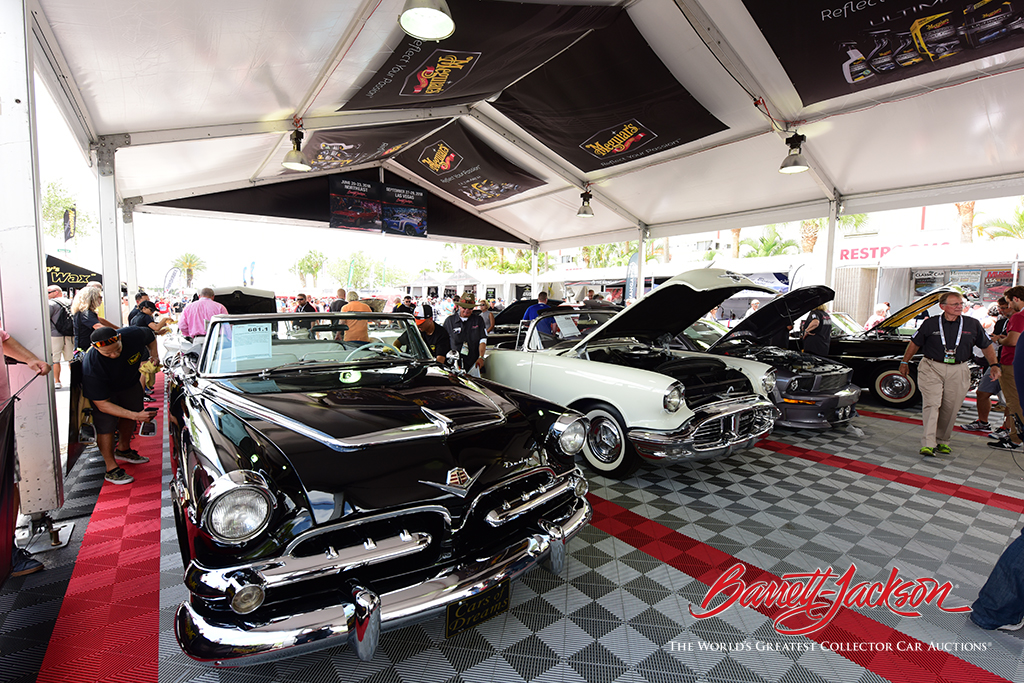 Vehicles from the Cars of Dreams Collection in the Staging Lanes.
