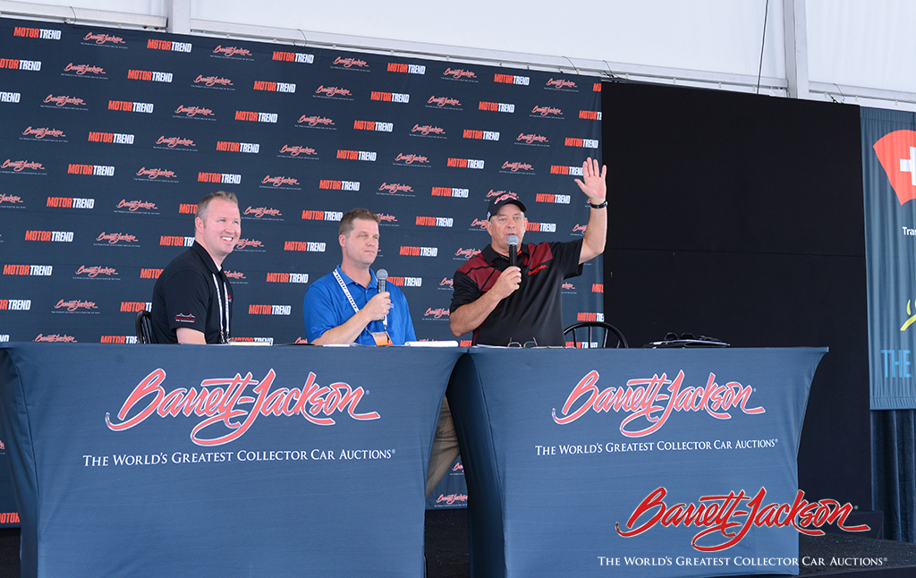 Matt Llewellyn of Bridgepoint Risk Management and Jerry Alspach of Woodside Credit discussed the finances of car collecting with moderator Pat Patterson of NASCAR Radio for one of today's Behind The Hobby Collector Car Symposiums