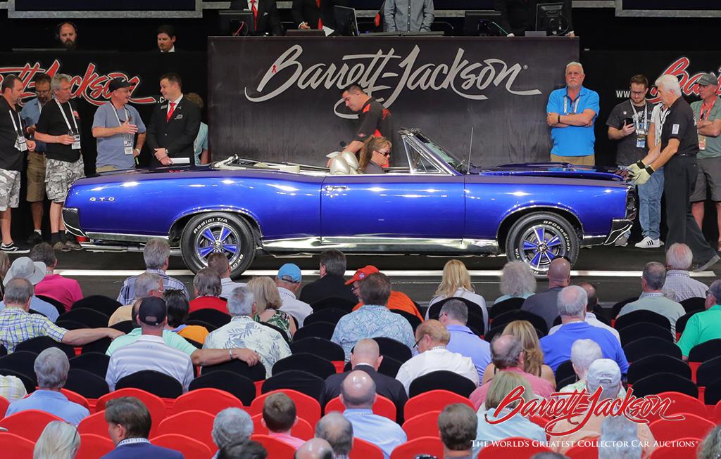 LOT #145 - 1967 PONTIAC GTO CONVERTIBLE