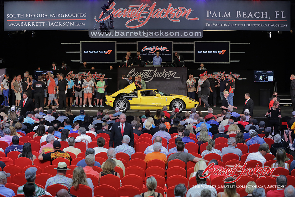 LOT #726.1 – 2006 FORD GT – $244,200