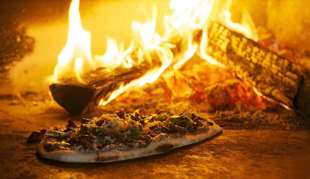 Mushroom Pizza Buccan