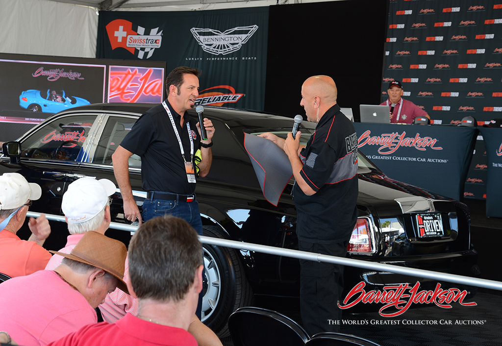 Adam Pitale of Adam's Polishes (left) and Barrett-Jackson's Jeff Catlin discussed collector car detailing and maintenance at this morning's Behind The Hobby Collector Car Symposium.