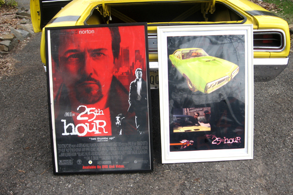 Lot 649 - 1970 Dodge Coronet Super Bee from 25th Hour_movie posters