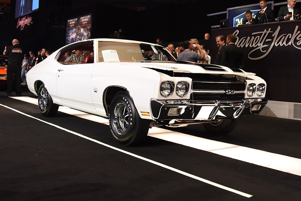 SOLD! This 1970 Chevelle SS454 LS6 went to its new home for $172,700.