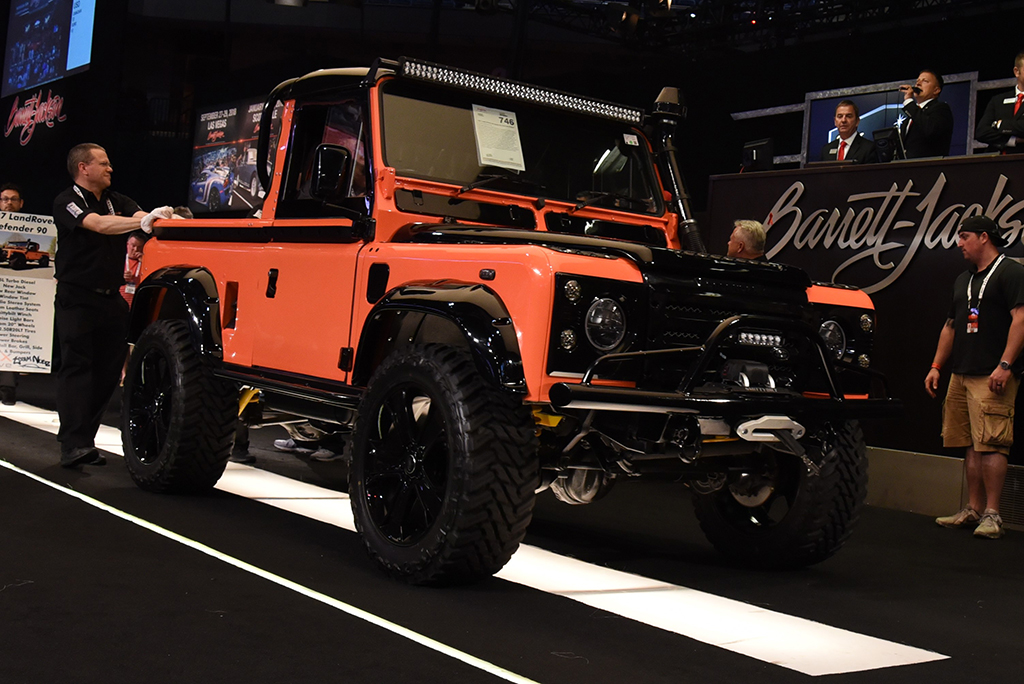 custom 1987 Land Rover Defender
