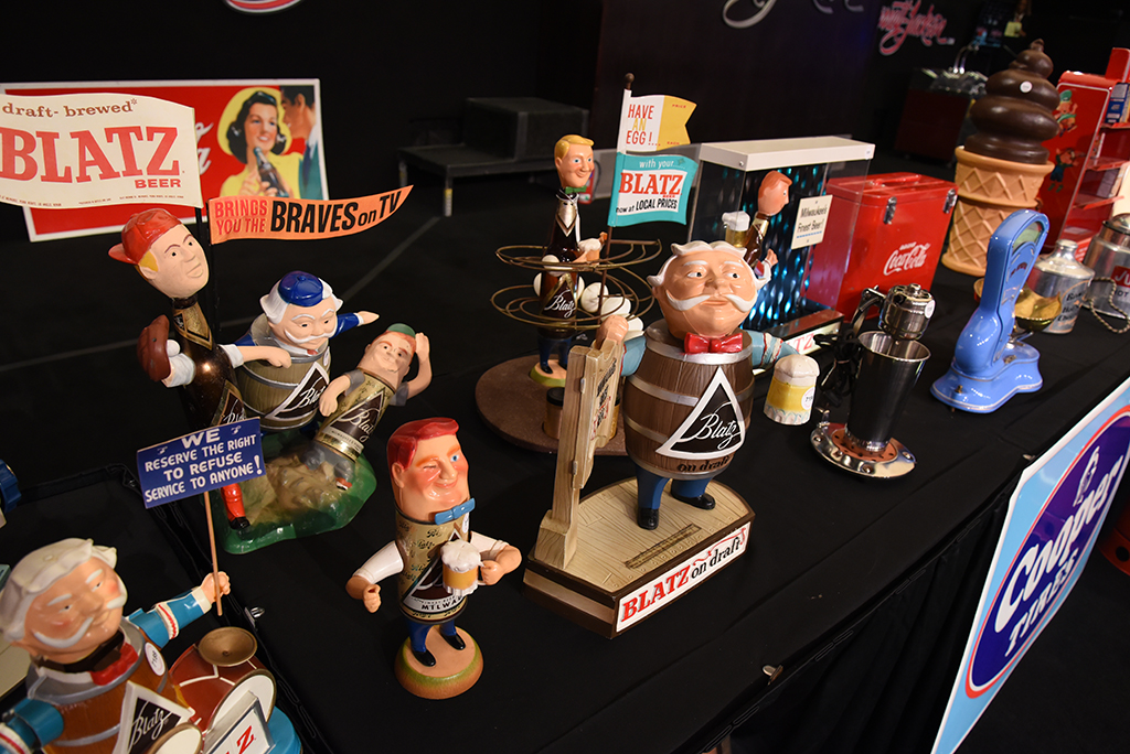 "Collectibles from America's ""Route 66"" motoring past were featured at the Automobilia Auction."