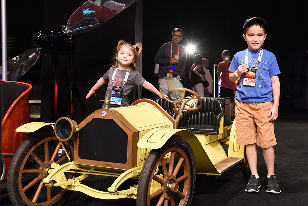 There's always something for all ages at a Barrett-Jackson event!